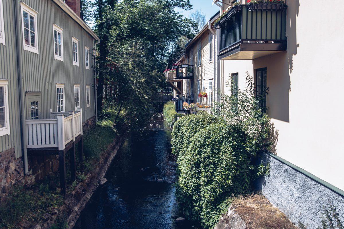 Norra åbron vid Krusagården